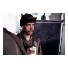 """A miner from """"Ziemowit"""" mine, 20th of April  1982"""
