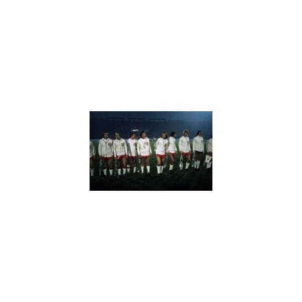 Piłkarze reprezentacji Polski na stadionie w Chorzowie przed meczem z Walią, 26 września