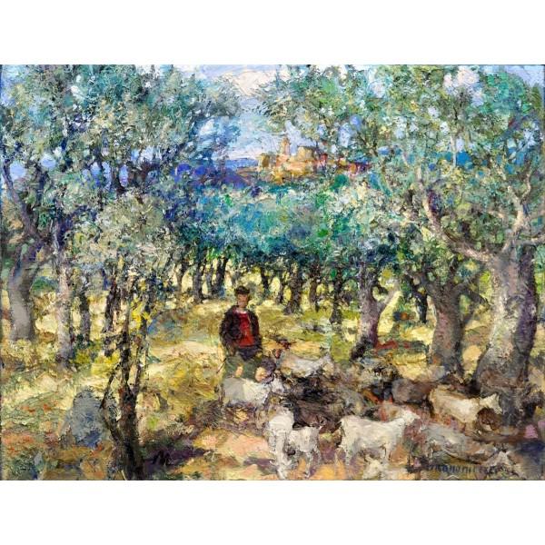Shepherd of goats