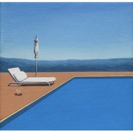 Bryza nad basenem