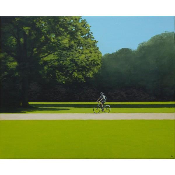 Rower na Polu Mokotowskim