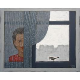 Za oknem
