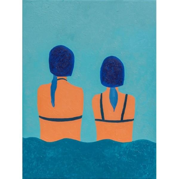 """Pływaczki, z cyklu """"Siostry"""""""