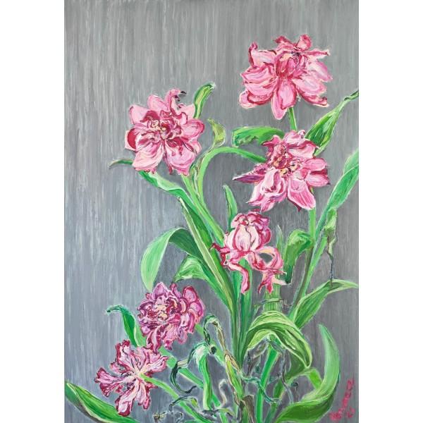 Six them flowers