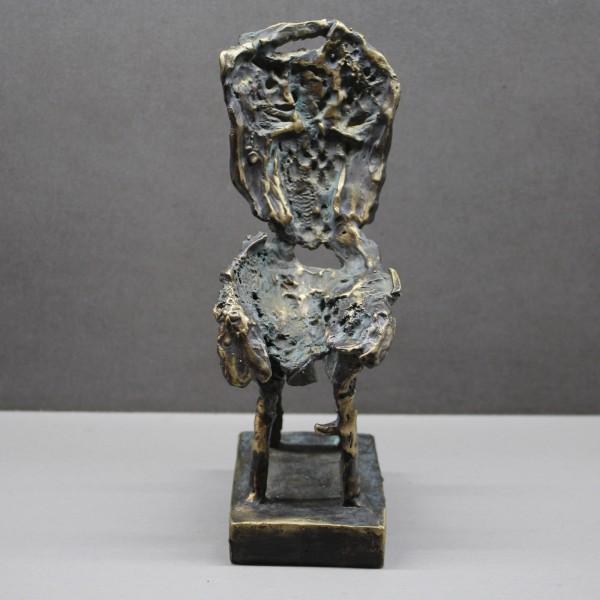 """Krzesło XXVIII z cyklu  """"Ślady istnień"""", unikat"""