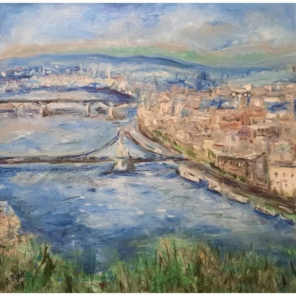 Budapeszt - panorama ze Wzgórza Gallerta