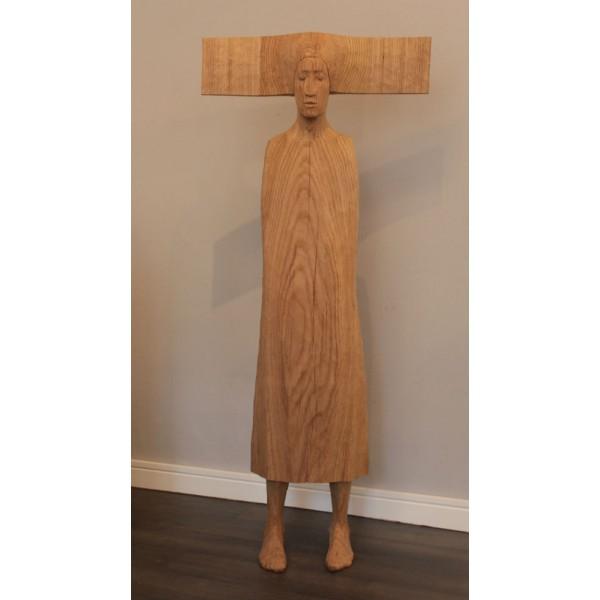 Bez tytułu, drewno