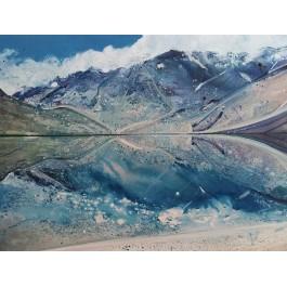 Jezioro w Himalajach