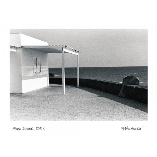 Plakat - Stone Silence. Piotr Wenclewski.