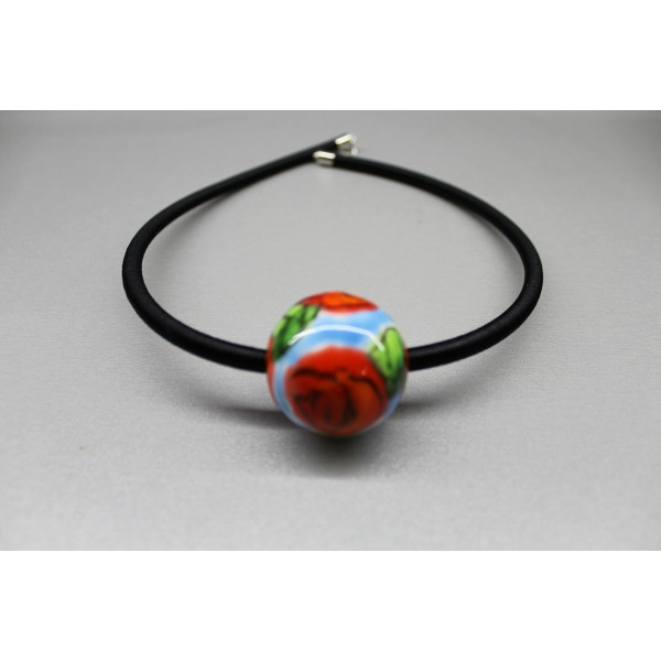 Pendant/ turquoise ball
